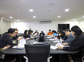 ประชุมกลุ่ม KM งานห้องสมุดแลกเปลี่ยนเรียนรู้ ครั้งที่ 2