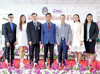 Prof. Dr. Ruedej Kerdvichai was presided over the opening ceremony of Library Book Fair