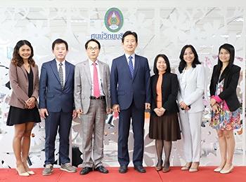 ยินดีต้อนรับอธิการบดีและคณะผู้บริหารจาก Sahmyook Health University College ประเทศสาธารณรัฐเกาหลีใต้