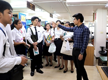 Welcoming freshman students from Thai Language, Faculty of Education