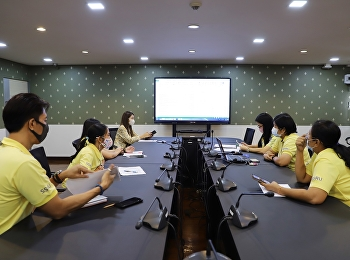 Meeting for budget plan year 2021 at conference room 1