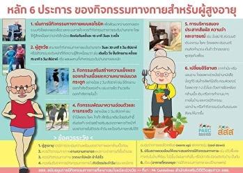 สูงวัยอย่างมีชีวิตชีวา : กิจกรรมทางกายสำหรับผู้สูงอายุ