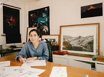 ห้องสมุดมนุษย์ : ชวนคุยกับนักวาดภาพประกอบเจ้าของรางวัล Designer of the Year 2021